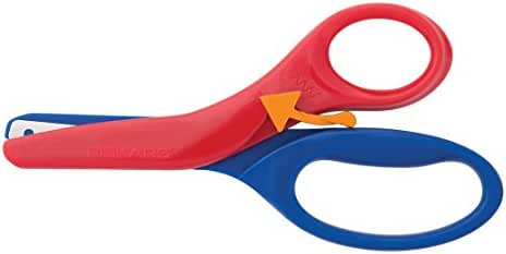 Fiskars Pre-School Training Scissors, Color Received May Vary (194900-1001), Multicolor
