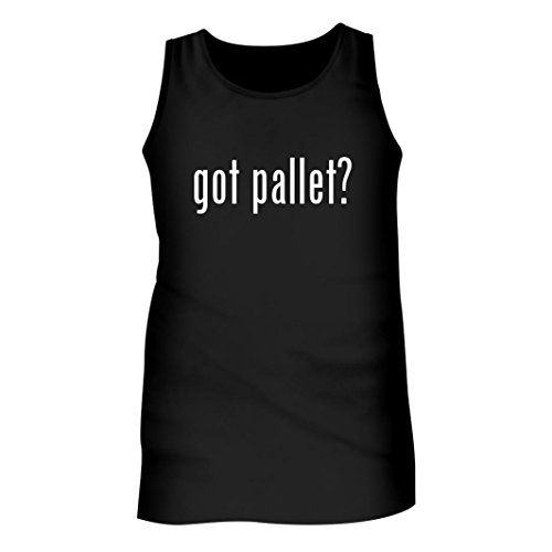Tracy Gifts Got Pallet? - Men's Adult Tank Top, Black, X-Large (Ideas Pallet Patio)