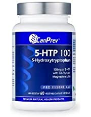 CanPrev 5-Htp 100 with B6 and Mag, 60 Vegicaps