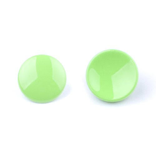 (2 Pack)VKO Green Soft Metal Release Button Compatible for Fujifilm X-T3 X-T20 X100F X-PRO2 XPRO-1 X10 X20 X30 X100 X100T X100S X-E1 X-E2 X-E2S X-T10 X-T2 Camera (11mm Concave 10mm Convex Surface)