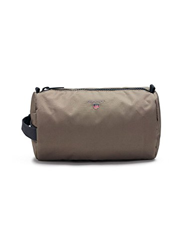 Gant Men's 1801098321362 Grey/Brown Polyester Beauty Case by GANT