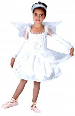 LUCIDA - Disfraz de ángel para niña, talla 10-12 años ...