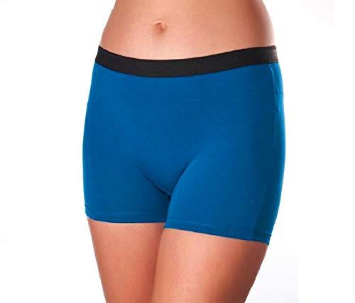 (SEVIM Women's 3 Pack Comfortable Cotton Bike Yoga Boxer Brief Boyshort (XS, Winter))
