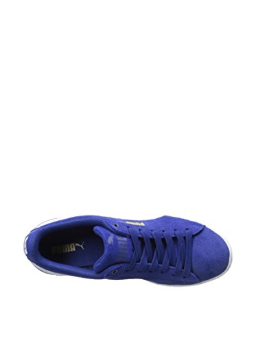 5 356714 Vikky PUMA Womens Clematis Puma Blue Shoes White 10 AqCdw