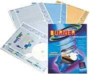 Avery AfterBurner 8832 CD/DVD Refill Labels for Applicator, White Matte, 40/Pack