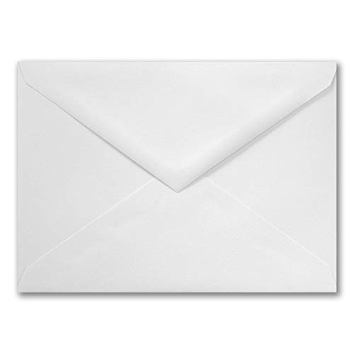 Envelope White Pointed Flap 32 lb. 7.75