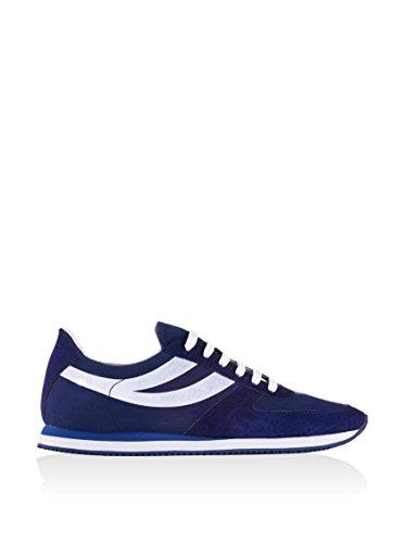 Sneakers - 4457-cotpigsueu Intense Blue