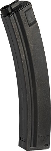 - Evike - G&P 100RD Full Metal Mid-Cap no Winding Magazine for MP5 / Mod5 Series Airsoft AEG