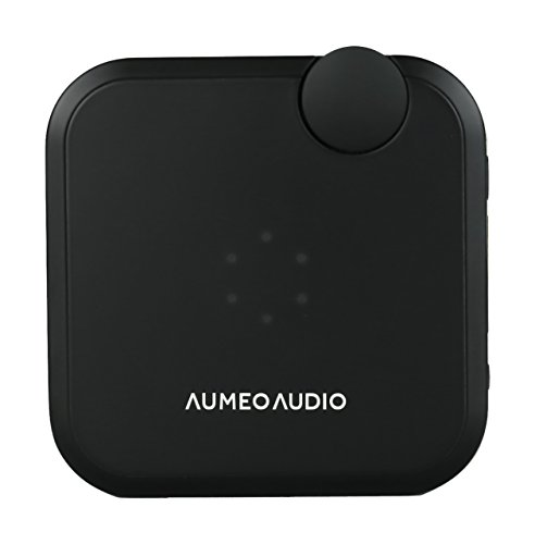 Aumeo Audio Tailored Audio Device and Headphone Personalizer, Bluetooth / 3.5mm Audio Dongle for iPhone, Android and More - Black by Aumeo Audio