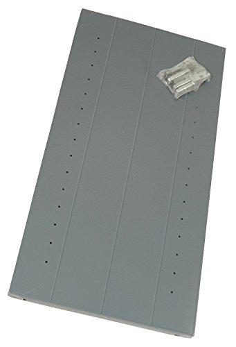 Edsal Steel Shelf, Gray, 1 EA Gray 20 Gauge Steel 3612N1-1 Each