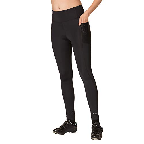 Terry Women's Holster Prima Cycling Tight - A Higher Compression, Full Length Option for Cooler Temperatures – Black – Large by Terry (Image #6)