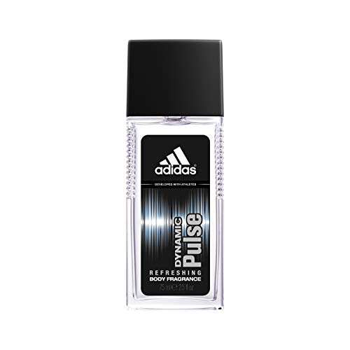 Adidas Fragrance Body Fragrance Dynamic Pulse Him 2.5 Fluid Ounce Refreshing Cologne with notes of Mint, Aniseed, and Cedar (Best Fragrance For Young Man)