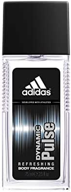 Adidas Fragrance Body Fragrance Dynamic Pulse Him 2.5 Fluid Ounce Refreshing Cologne with notes of Mint, Aniseed, and Cedar