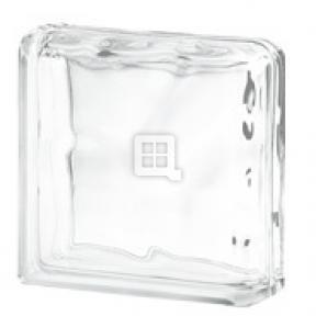 Quality Glass Block 8 x 8 x 4 Nubio Double End Block Glass Block by Quality Glass Block