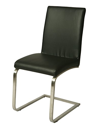 Impacterra QLMC11079142 (2pk) Monaco Side Chair, Metallic