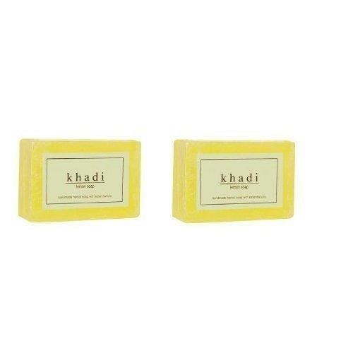 125g Soaps - Khadi Lemon Soap, 125g (Pack of 2)