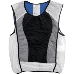 Techniche 6531BLK-3X HyperKewl Ultra Sport Vest, Gender: Mens/Unisex, Primary Color: Black, Size: 3XL, Distinct Name: Black