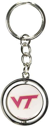 NCAA Virginia Tech Spinner Key Ring ()
