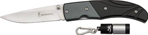 Browning Getaway 5039 Knife/Flashlight Combo Black 3715039