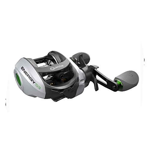Zebco/Quantum, Energy Baitcast Reel, 101 Reel Size,, used for sale  Delivered anywhere in USA