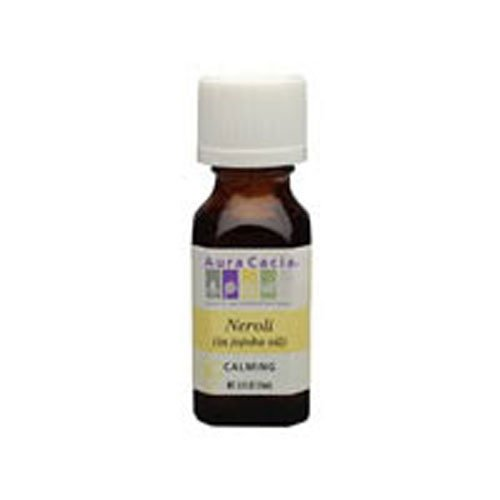 Aura Cacia Essential Oil, Calming Neroli, 0.5 fluid ounce (Pack of 2) ()