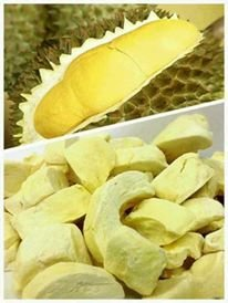 [Snack Freeze Dried Golden Durian Fruit - 100g] (Air Malaysia Costume)