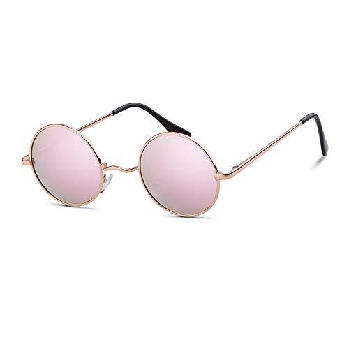 John Lennon Glasses Round Polarized Sunglasses Hippie Glasses for Women ()