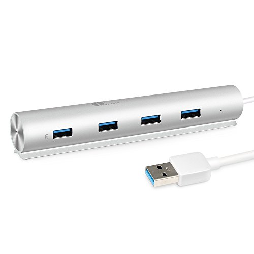 1byone SuperSpeed Aluminum 7 Port silver