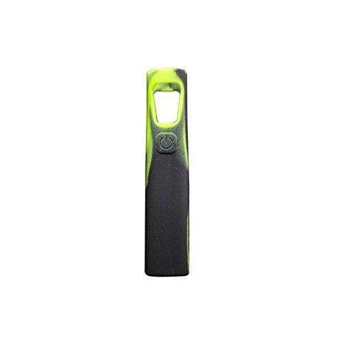 - Silicone Protective Case Anti-Slip Gel Sleeve Rubber Wrap Skin Cover for Joyetech EGo AIO Box Mod Starter Kit, 2 PCs (Black-Green)