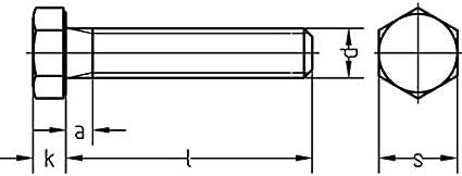 ehem.DIN 933 verzinkt 500 St/ück Dresselhaus 0//0222//001//4,0//20// //01 Sechskantschrauben 8.8 mit Gewinde bis Kopf DIN EN ISO 4017 M 4 x 20 galv