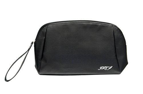 JFT Black Makeup Bag with Hanging N Compartments Holder Purs