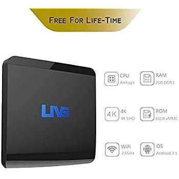 Amazon com: Live IPTV Receiver Box 4500+ Global Channels