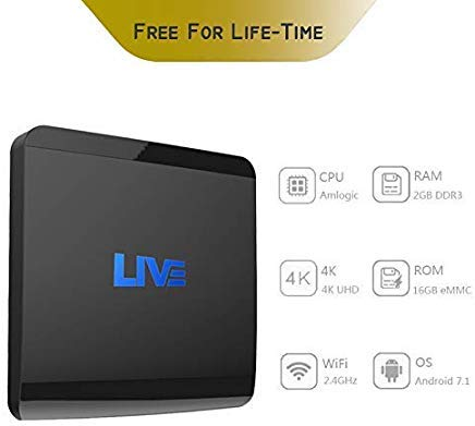 Arabic Live IPTV Box Mini International Receiver with 1500+ Global Channels from Asian American Europe Brazil India CA No Monthly / Yearly Subscription Fee 4K WiFi Ethernet Supported (Best Tv Tuner Card In India)