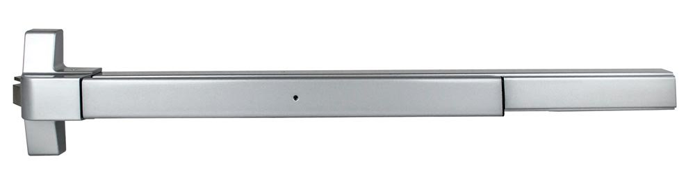 TACO ED-501-US32D Series Trans Atlantic ED-501 Rim Surface Exit Device in Satin Stainless Steel