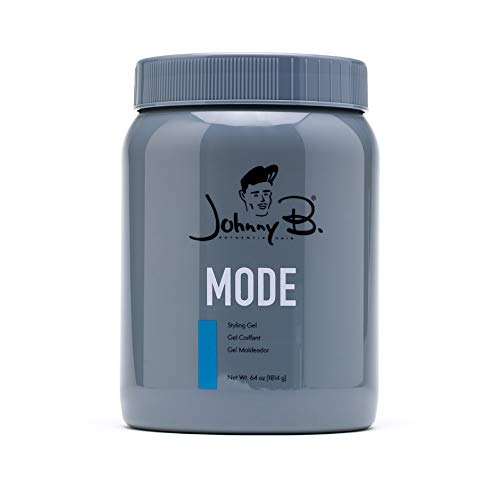 Johnny B Mode Styling Gel 64 oz, New Packaging, Fast Shipping!