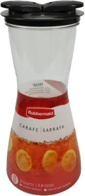 Rubbermaid 2-Quart Tritan Carafe (Color May Vary) (Pack of 3)