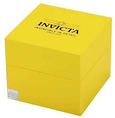 Invicta Men 12845 Specialty Black Dial Watch with RedBlack Bezel