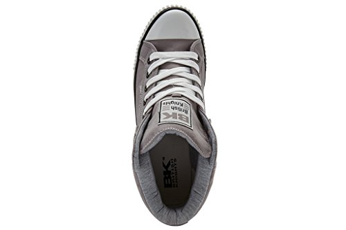 HIGH Knights Sneaker Gris British Schuh Top ROCO Herren qg7UwFt4
