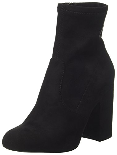 Steve Madden Women's Gaze Ankle Bootie, Black, 7.5 M US