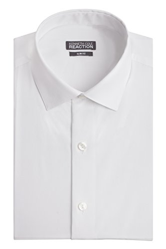 kenneth-cole-mens-chambray-slim-fit-solid-spread-collar-dress-shirt-white-175-neck-34-35-sleeve