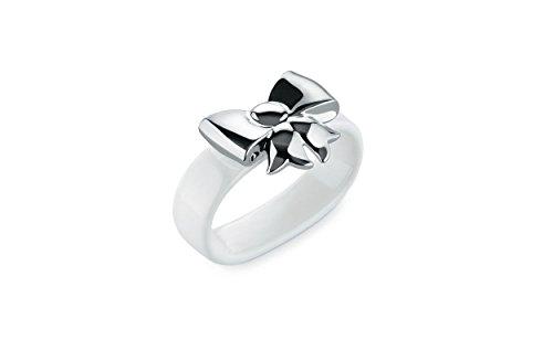 Alessi MW47S2 Set2Napkin Dressed X-Mas Napkin Rings, Set Of 2 White ()