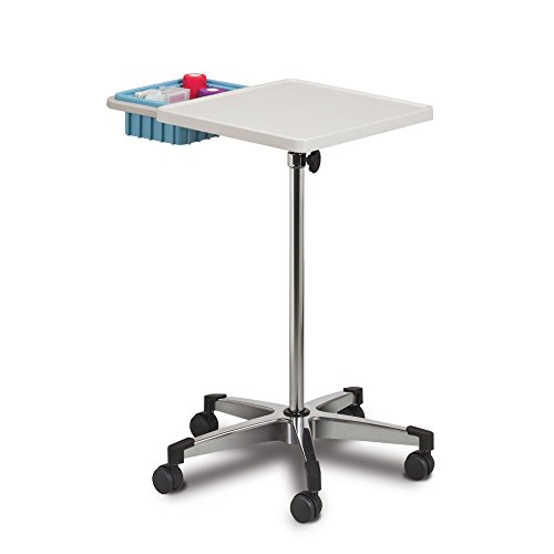 - Mobile Phlebotomy Workstation with Side Bin