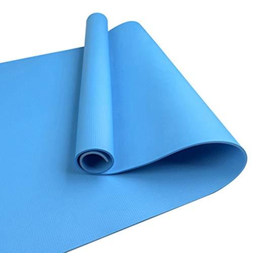 🥇 Binwwe Esterilla de Yoga Esterilla de Ejercicio Antideslizante Gruesa para Entrenamiento en el Hogar Gimnasio Fitness Deportes Almohadilla de Ejercicio