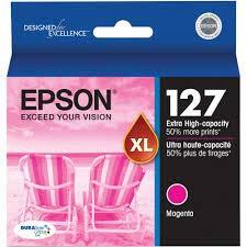 Epson Brand Name Hi-Cap Magenta Inkjet Cartridge 755 YLD T127320