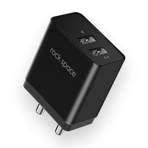 Rock Space T8 Dual port Charger 2.4Amp