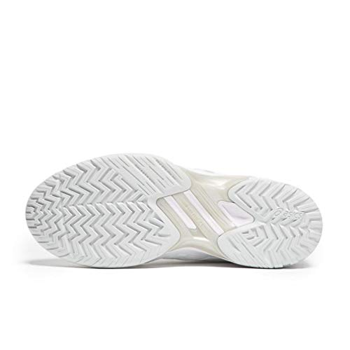 Resolution blanc Asics Sneakers 7 Mens Gel argent wvxRqf4