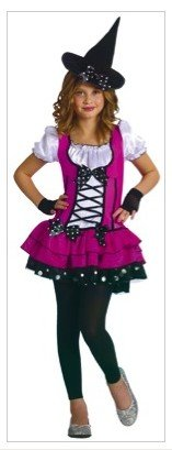 Baby Girls - Sugar N Spice Witch Toddler Costume 3T-4T - Costumes Spice Baby
