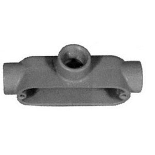 Appleton T250-A Form 85 Conduit Body, Style T, Copper-Free Aluminum, 2-1/2''