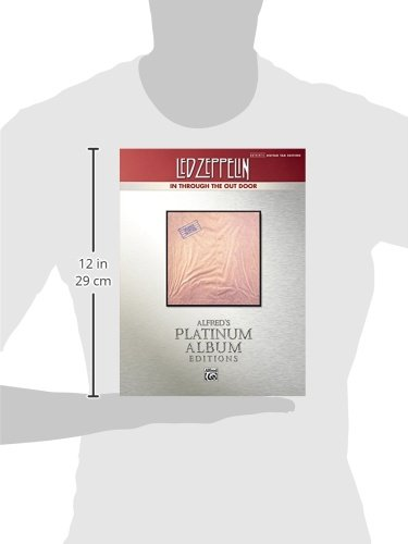 Led Zeppelin -- In Through the Out Door Platinum Guitar: Authentic Guitar TAB (Alfred's Platinum Album Editions)