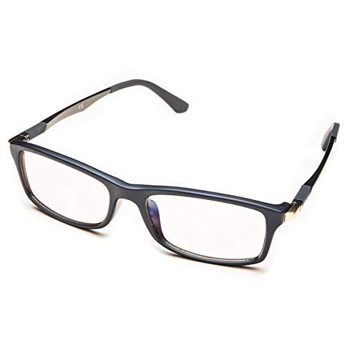 Computer Glasses - PROSPEK - Dynamic - Blue Light Blocking Glasses - Anti Blue Light Glasses - Large Size